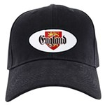 England Coat of Arms Black Cap