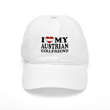 I Love My Austrian Girlfriend Baseball Cap