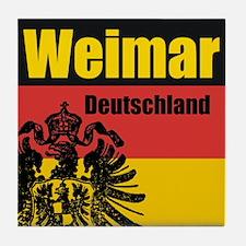 Weimar Deutschland  Tile Coaster