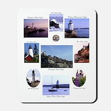 Light Houses of Maine Mousepad