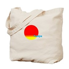 Funny Taniya Tote Bag