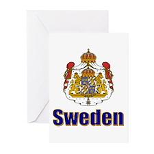 Stora Riksvapnet Greeting Cards (Pk of 10)