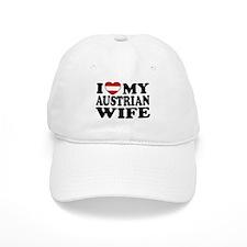 I Love My Austrian Wife Baseball Cap