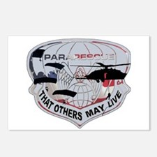 Cute Pararescue Postcards (Package of 8)