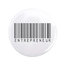 """Entrepreneur Bar Code 3.5"""" Button"""
