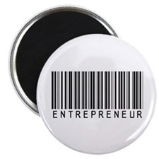 "Entrepreneur Bar Code 2.25"" Magnet (10 pack)"