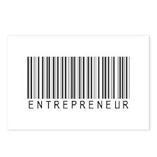 Entrepreneur Bar Code Postcards (Package of 8)