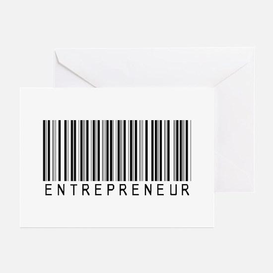 Entrepreneur Bar Code Greeting Cards (Pk of 20)