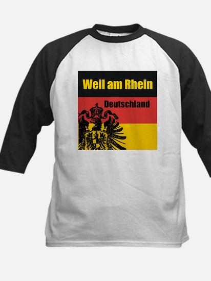 Weil am Rhein Deutschland Kids Baseball Jersey