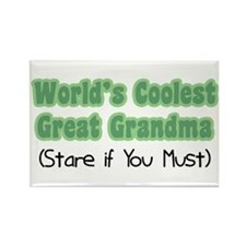 World's Coolest Great Grandma Rectangle Magnet