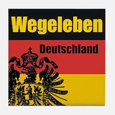 Wegeleben Deutschland  Tile Coaster