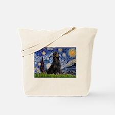 Starry Night & Gordon Tote Bag