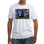 Starry Night & Gordon Fitted T-Shirt