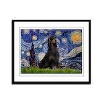 Starry Night & Gordon Framed Panel Print