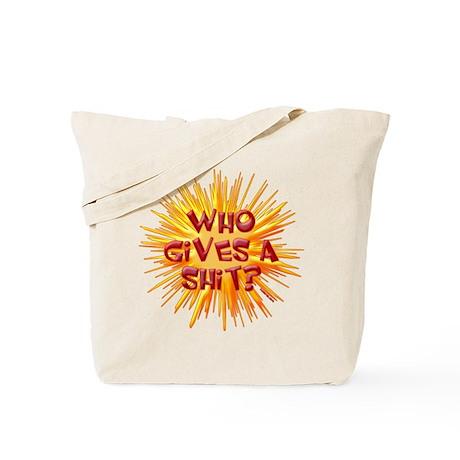 Who gives a shit? Tote Bag