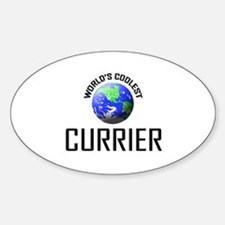 World's Coolest CURRIER Oval Decal