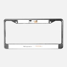 Scar Tissue License Plate Frame