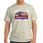 Red State Insurgent T-shirts  Ash Grey T-Shirt