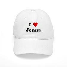 I Love Jenna Baseball Cap