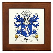 Dun (or DONNE, Sir Daniel) Framed Tile