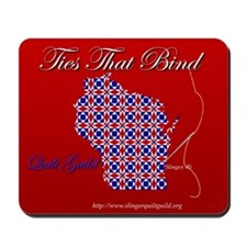Ties That Bind Quilt Guild Mousepad