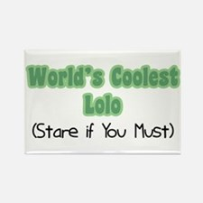 World's Coolest Lolo Rectangle Magnet