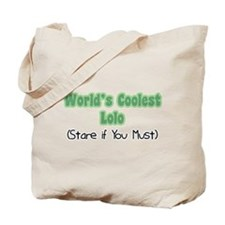 World's Coolest Lolo Tote Bag