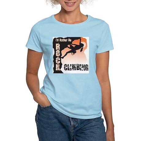 Rock Climbing Women's Light T-Shirt