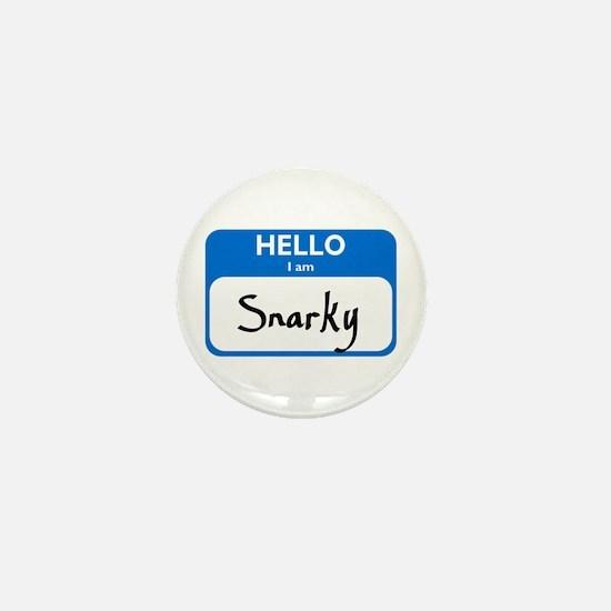 Snarky Mini Button