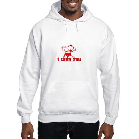 I Lava You Hooded Sweatshirt