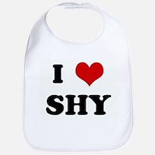 I Love SHY Bib