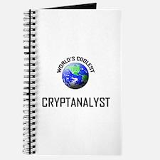 World's Coolest CRYPTANALYST Journal