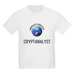 World's Coolest CRYPTANALYST T-Shirt
