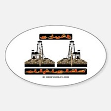 Egypt Oilfields Oval Decal