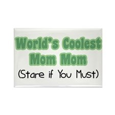 World's Coolest Mom Mom Rectangle Magnet