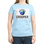 World's Coolest CROUPIER Women's Light T-Shirt