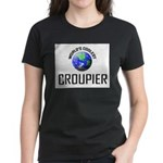 World's Coolest CROUPIER Women's Dark T-Shirt