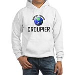 World's Coolest CROUPIER Hooded Sweatshirt