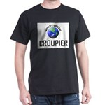 World's Coolest CROUPIER Dark T-Shirt