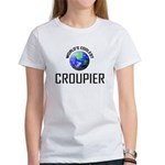 World's Coolest CROUPIER Women's T-Shirt