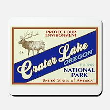 Crater Lake (Elk) Mousepad