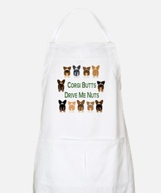 Both Corgi Butts BBQ Apron