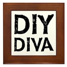 DIY DIVA Framed Tile