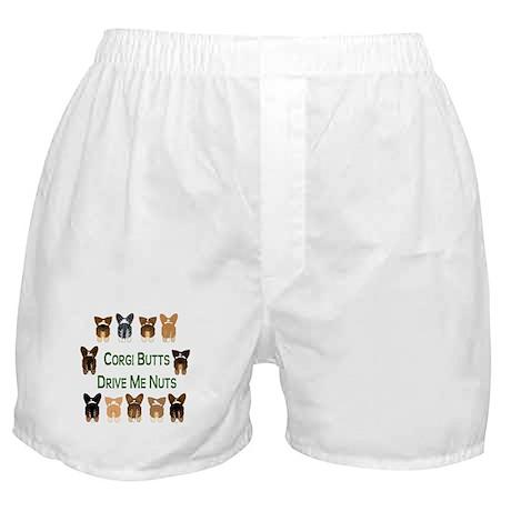 Both Corgi Butts Boxer Shorts