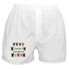 Both Corgi Butts Boxer Shorts