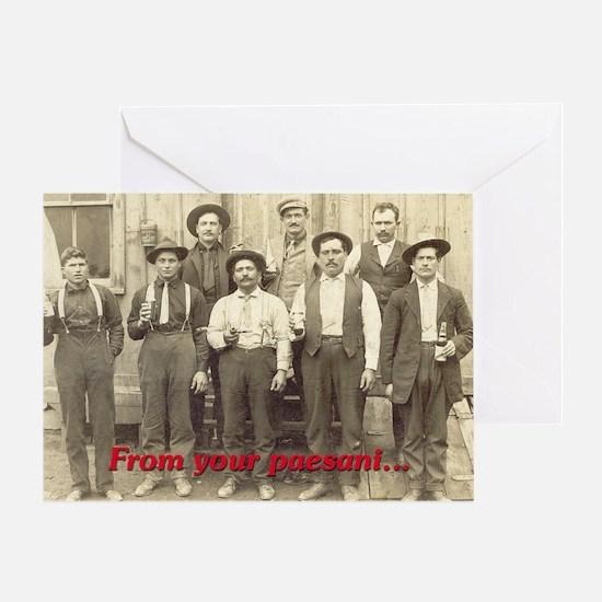 Paesani Greeting Card