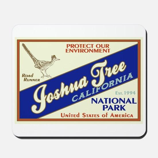 Joshua Tree (Road Runner) Mousepad