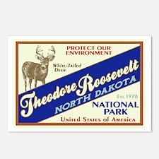 Theodore Roosevelt (Deer) Postcards (Package of 8)