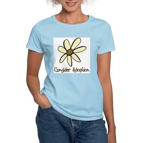 Consider Adoption Women's Light T-Shirt