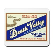 Death Valley (Rattlesnake) Mousepad